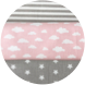 Gray/Pink clouds/Gray